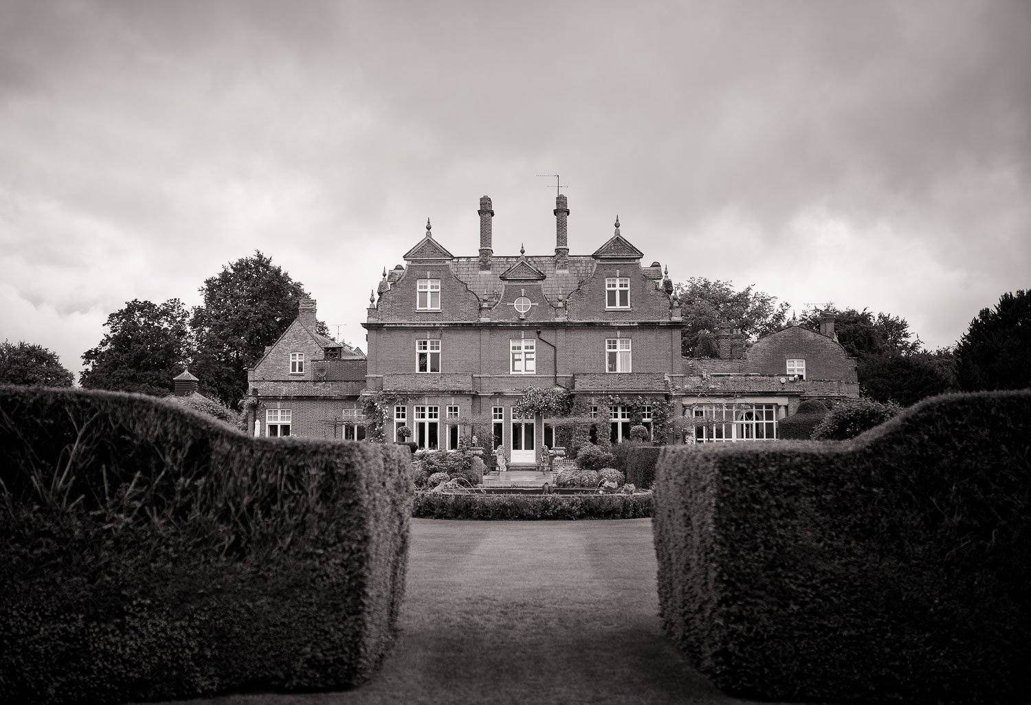 Black and White image of Chippenham Park