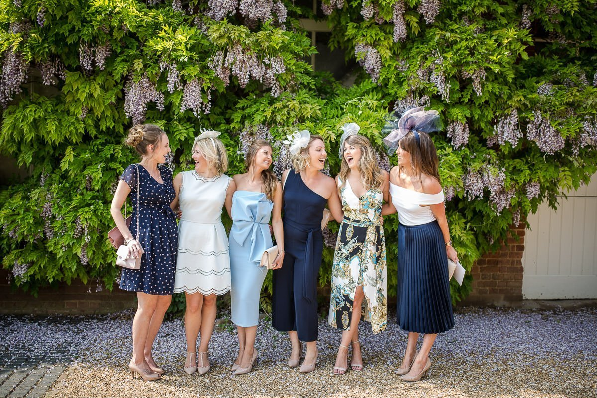 Friends gathered infant of wisteria at Longstowe Hall