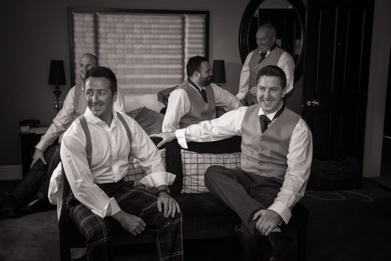 Groom and his grooms' men