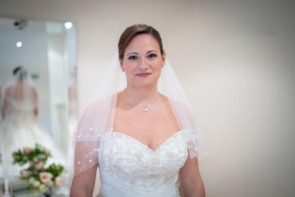 Stunning bride at Longstowe Wedding