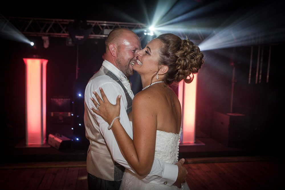 Bride and groom's first dance at Hockwold Hall Wedding